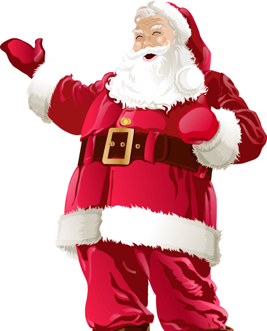 Santa is Waiting for You!